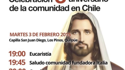 Missione in Cile (Quilpué) dal 2 all' 11 febbraio 2015