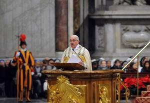 Liberarsi da ogni schiavitù – discorso di Papa Francesco