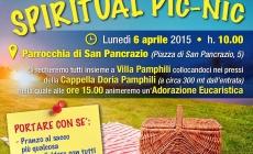 CRONACA DELLO SPIRITUAL PIC-NIC A VILLA DORIA PAMPHILI