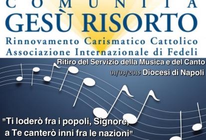 Fotocronaca Ritiro Servizio della Musica e del Canto