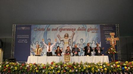 (Italiano) Cristo entre vosotros, la esperanza de la gloria – reflexión Congreso Internacional 2014