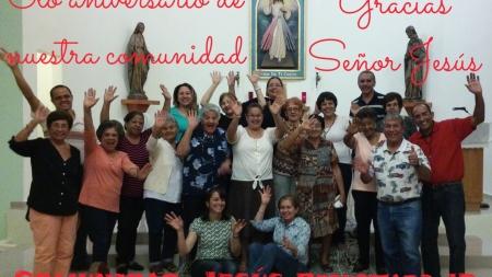 (Italiano) 6° aniversario Comunidad Jesús Resucitado de Juana Díaz
