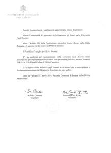 Decreto di Approvazione pag 2 BN