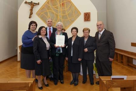 (Italiano) Galleria fotografica – Decreto di approvazione definitiva dello Statuto Internazionale della Comunità Gesù Risorto
