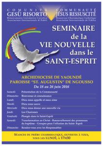 locandina missione a Yaoundé in JPEG