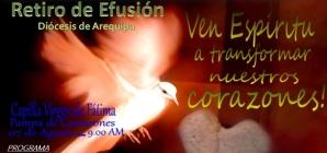 (Italiano) Ritiro Effusione Spirito Santo Arequipa – Cronaca