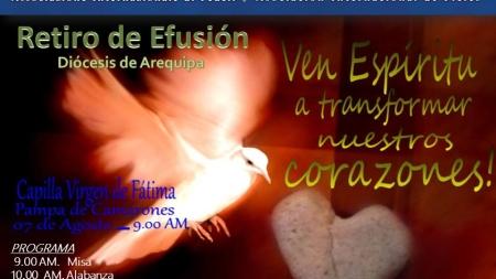 Retiro de l'Efusión del Espíritu Santo – Diócesis de Arequipa