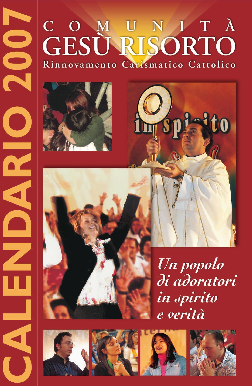 (Italiano) Calendario 2007