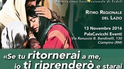 (Italiano) Ritiro Regionale del Lazio