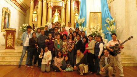 Diócesis de Arequipa (PERÙ) – Retiro Anual de las Comunidades de Crecimiento