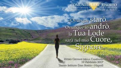 (Italiano) Ritiro Giovani Campania – Diretta Adorazione Eucaristica