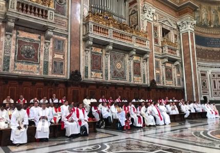 S. Messa nella basilica di S. Giovanni