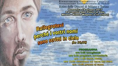 Ritiro interdiocesano Milano e Torino – cronaca