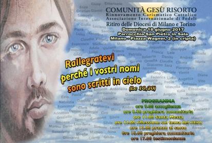 (Italiano) Ritiro interdiocesano Milano e Torino – cronaca