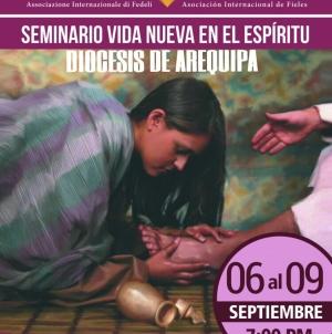 PERU' Arequipa – Seminario vida nueva en el espíritu