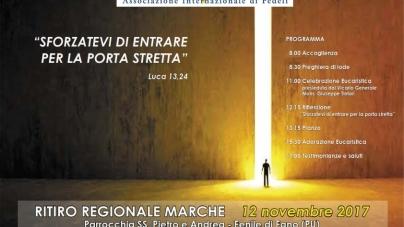 Ritiro Regionale delle Marche