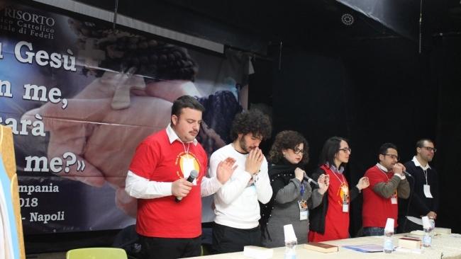 Cronaca del Ritiro Regionale dei giovani della Campania