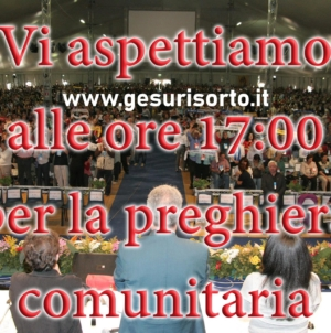 Preghiera Comunitaria #iopregoacasa