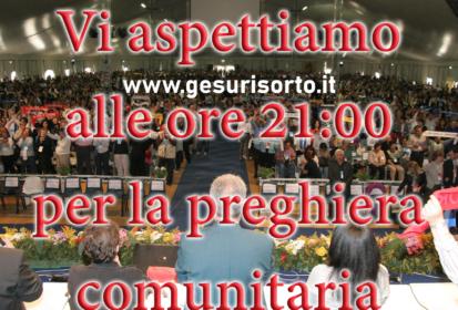 (Italiano) Preghiera Comunitaria