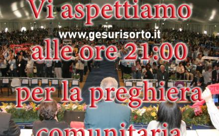 (Italiano) Preghiera comunitaria web – giugno