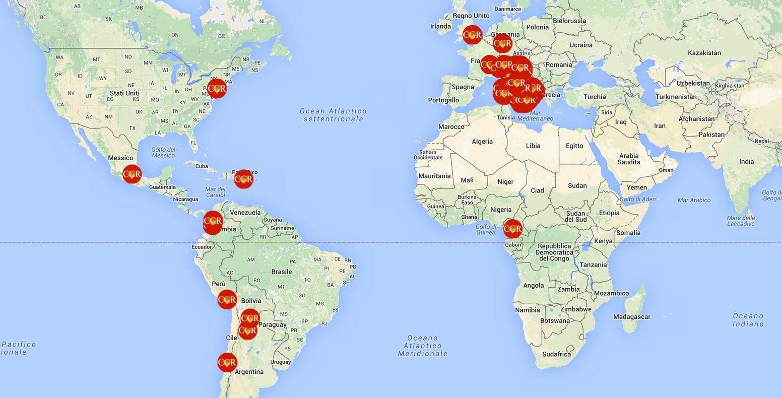 Aggiornamento Mappa Comunità Gesù Risorto