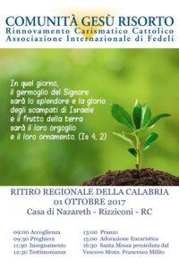Ritiro Regionale Calabria 2017