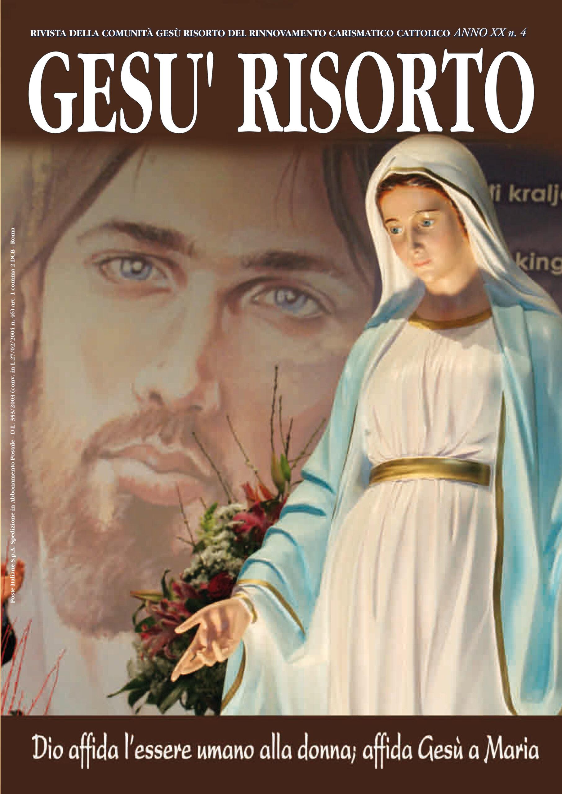 Rivista Gesù Risorto