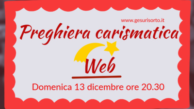Preghiera carismatica Web