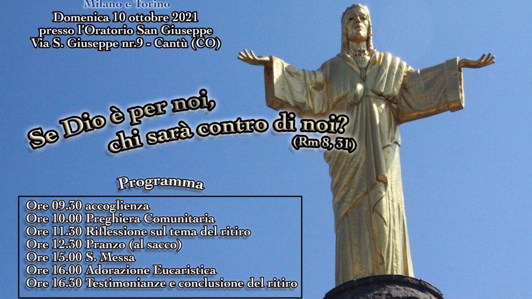 Ritiro delle Comunità delle Diocesi di Milano e Torino